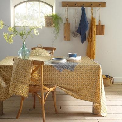 Beschichtete Tischdecke ORIANE aus Baumwolle, bedruckt La Redoute Interieurs