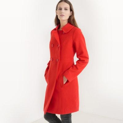 Manteau croisé à double boutonnage La Redoute Collections
