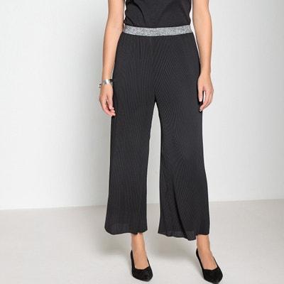 Pantaloni larghi, pieghe permanenti Pantaloni larghi, pieghe permanenti ANNE WEYBURN