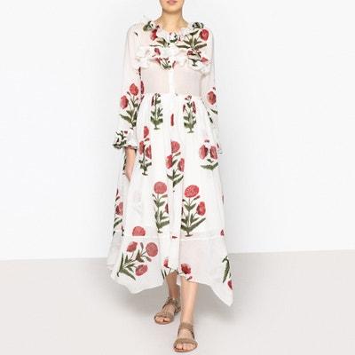Carpet Buttoned Maxi Dress LAURENCE BRAS