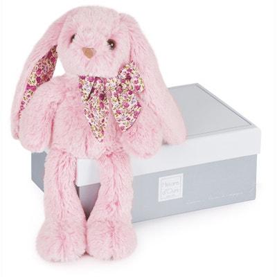 Roze konijn PM 25cm - Les Copains Câlins HISTOIRE D'OURS