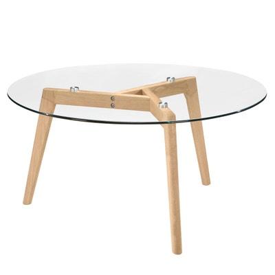 Table Basse Gigogne Verre Transparent En Solde La Redoute