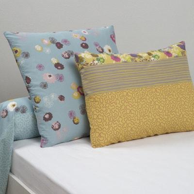 Yurti Floral Print Cotton Single Pillowcase Yurti Floral Print Cotton Single Pillowcase La Redoute Interieurs