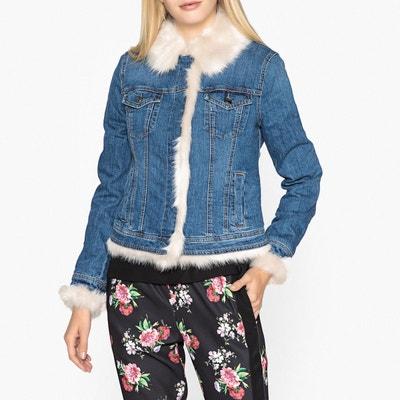 Veste en jean coupe droite Veste en jean coupe droite LIU JO