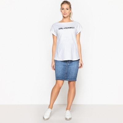 T-shirt met tekst, zwangerschap La Redoute Collections