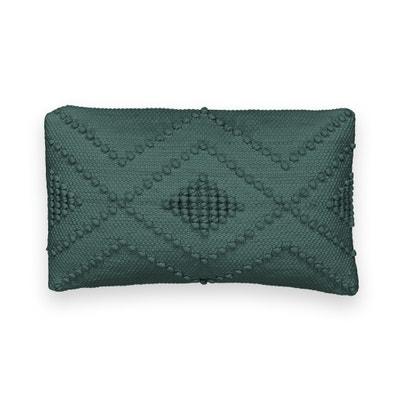 Volos Single Cotton Cushion Cover Volos Single Cotton Cushion Cover La Redoute Interieurs