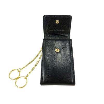 Porte clé - Etui, pochette de protection pour clés en Cuir de vachette  Porte clé. ELEPHANT D OR 465987d0230