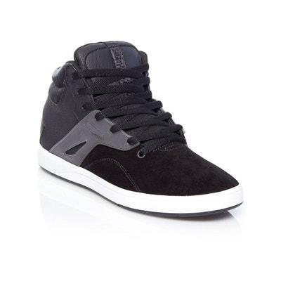 DC - - Chaussures à Haute Fréquence pour Homme, 43, Black/Red