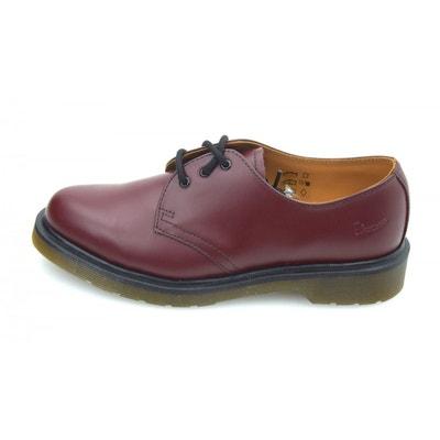 confortable Chaud Vente En Ligne Pas Cher DUNE LONDON Chaussure à lacets Dr. Martens 1461 Plain Welt Smooth Cherry Red Résistant À L'usure Style De Mode Rabais 39Luu3wMC