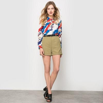Shorts con risvolti Carven x La Redoute