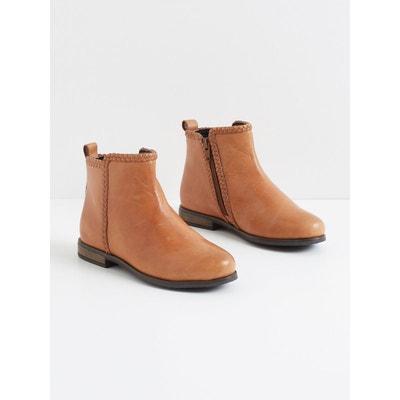 Boots tressées fille Boots tressées fille CYRILLUS
