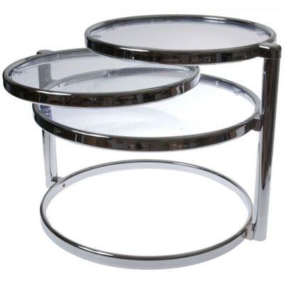 Table Basse Design Verre Trois Plateaux Table Basse Design Verre Trois Plateaux PRESENT TIME