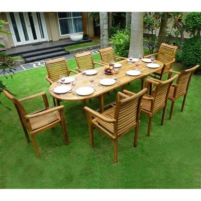 Salon De Jardin Table Chaises En Solde La Redoute