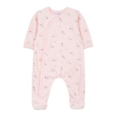 Pyjama en velours 3 mois - 12 mois Pyjama en velours 3 mois - 12 mois ABSORBA