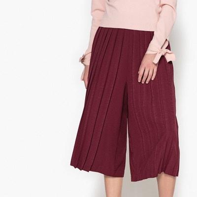 Calças curtas, largas e plissadas Calças curtas, largas e plissadas La Redoute Collections