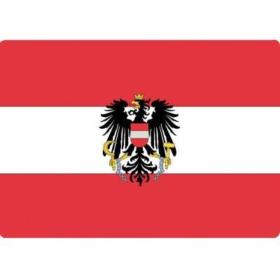 Informatique Tapis de souris drapeau Autriche CBK