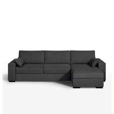 Canapé d'angle lit, coton, latex, Cécilia Canapé d'angle lit, coton, latex, Cécilia LA REDOUTE INTERIEURS