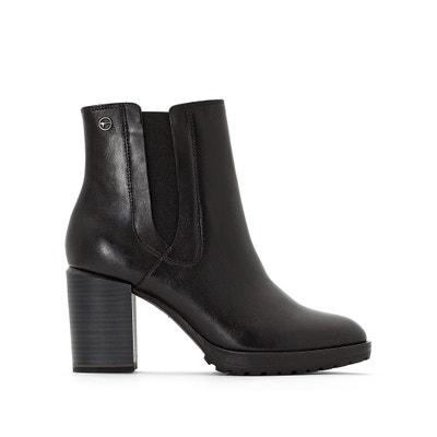 Boots cuir Hibiscus TAMARIS