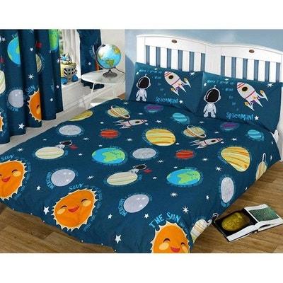 Système Solaire - Parure de lit double Astronaute - Housse de Couette HOME 6fd1cabd0752