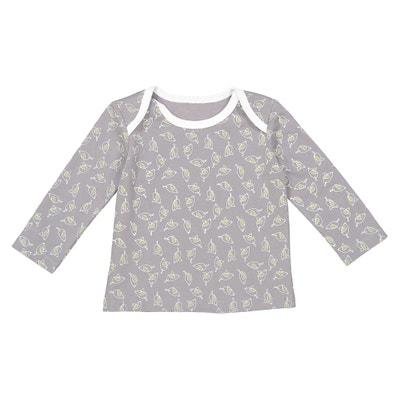 T-shirt met vogelprint 0 mnd - 2 jr, Oeko Tex T-shirt met vogelprint 0 mnd - 2 jr, Oeko Tex La Redoute Collections