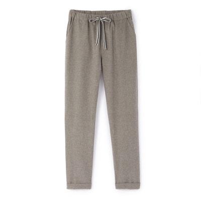 Pantaloni flanella 10-16 anni Pantaloni flanella 10-16 anni La Redoute Collections