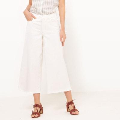 Blanc Redoute Solde Pantalon La En Bootcut dxqza0Oz