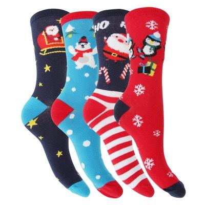Chaussettes de Noël Chaussettes de Noël FLOSO