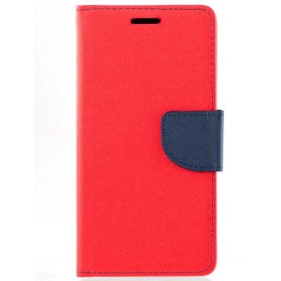 Housse portefeuille rouge pour Samsung Galaxy A3 2017 AMAHOUSSE 8217b5a58d6