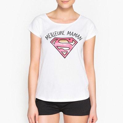 Pyjashort  imprimé DC Comics Meilleure Maman Pyjashort  imprimé DC Comics Meilleure Maman DC COMICS