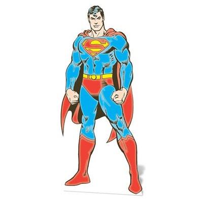 Figurine en carton Superman DC Comics Figurine en carton Superman DC Comics WALLTASTIC