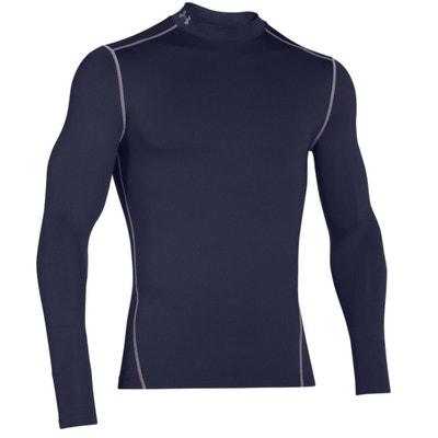 d7db82b97133a Tee-shirt Compression Under Armour ColdGear - 1265648-410 Tee-shirt  Compression Under