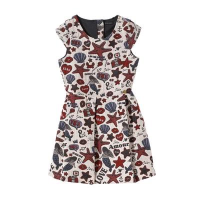 Seaside Print Dress, 3-14 Years IKKS JUNIOR