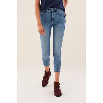 Jeans Secret Glamour avec rubans sur le côté Jeans Secret Glamour avec  rubans sur le côté 778f9523cfe