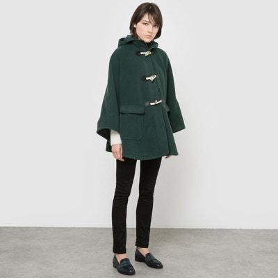 Manteau col montant femme pas cher