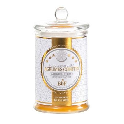 Bougie parfumée bonbonnière 55h agrumes confits Bougie parfumée bonbonnière 55h agrumes confits BOUGIES LA FRANÇAISE