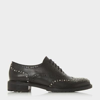 Chaussures Lacets À Yqtunxt Brogues Clous Avec SFWIB
