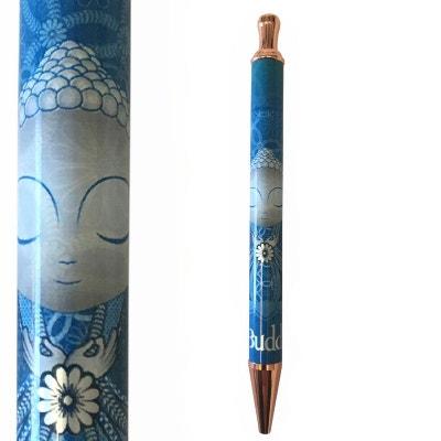 6cf0d6f6640275 Stylo à bille Bleu rétractable Little Buddha KONTAKT CHEMIE