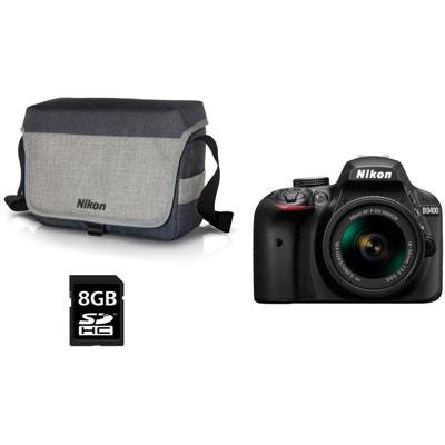 Appareil photo Reflex NIKON D3400 + 18-55mm VR + Sac + 8Go NIKON