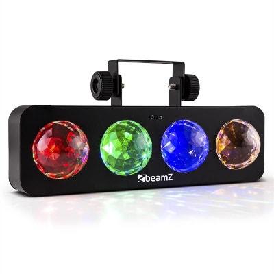 DJ Bank BX Effet de lumière 4 x LED RJBA télécommande -noir BEAMZ