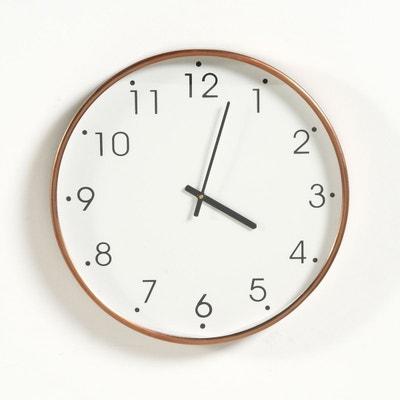 Horloge métal finition cuivre La Redoute Interieurs