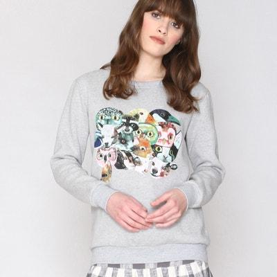 Sweatshirt, Rundhals, Animalprint PEPALOVES