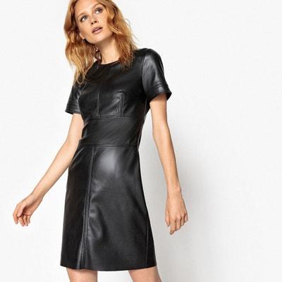 Robe de cuir femmes