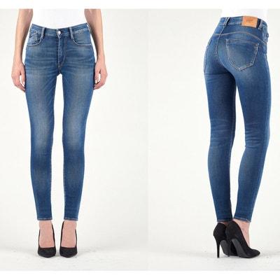 Jean slim taille haute, effet push up PULP HIGH Jean slim taille haute, effet push up PULP HIGH LE TEMPS DES CERISES