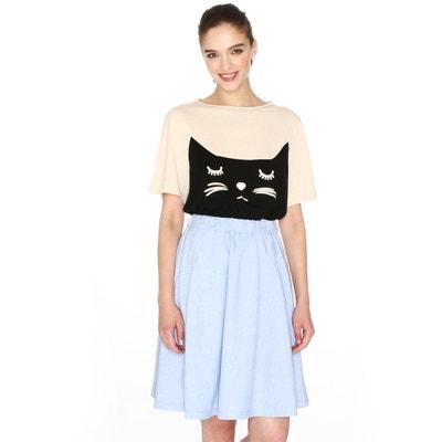 Knee-Length Full Skirt PEPALOVES