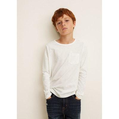 T-shirt coton poche MANGO KIDS