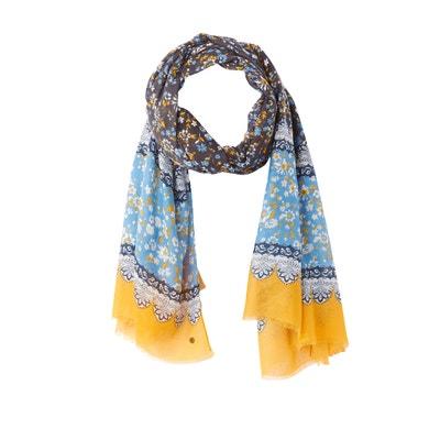 Bedrukte sjaal, Multiflower Bedrukte sjaal, Multiflower ESPRIT