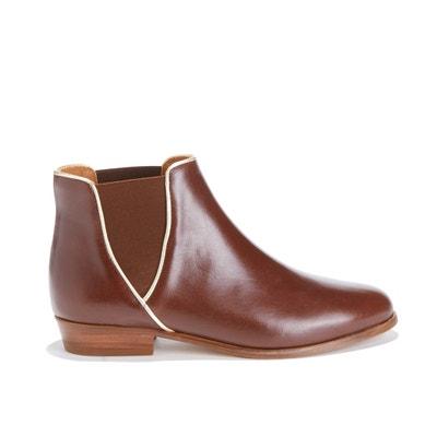 La Londonienne Leather Ankle Boots La Londonienne Leather Ankle Boots BOBBIES