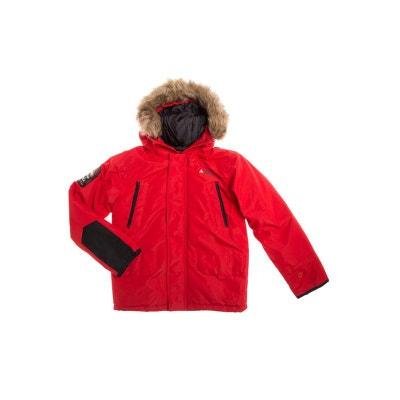5030d783c8bf4 Peak Mountain - Parka de ski garçon 10 16 ans ECAPEAK-rouge PEAK MOUNTAIN