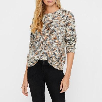 Pullover, Lurexdetails, runder Ausschnitt Pullover, Lurexdetails, runder Ausschnitt VERO MODA