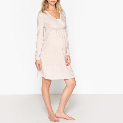 Chemise de nuit d'allaitement et de grossesse Chemise de nuit d'allaitement et de grossesse La Redoute Collections